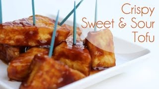 Crispy Sweet And Sour Tofu | Perfect Party Appetizer