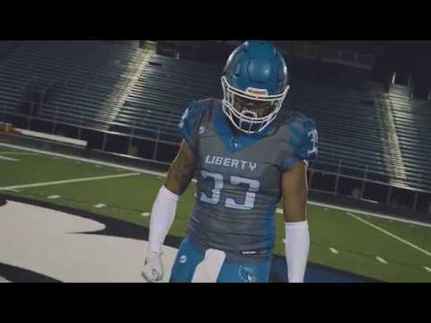 High School Football Intro Video   Liberty Blue Jays