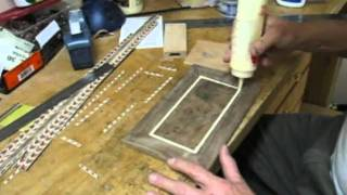 Making A Walnut Box With Wood Inlays - Part 4