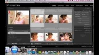 Học Lightroom 4 - 003 Đưa hình ảnh vô máy computer phần 1