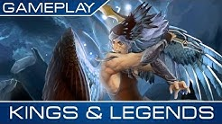 Gameplay, Tricks & Tipps - Kings & Legends - Free Online Games auf POGED