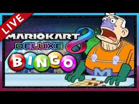 MARIO KART 8 DELUXE #6: BINGO! [1080p] ★ Livestream