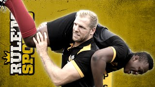 James Haskell Takes KSI to the Pitch!