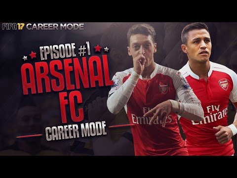 THIS GAME IS HARD!   Fifa 17 Arsenal Career Mode #1