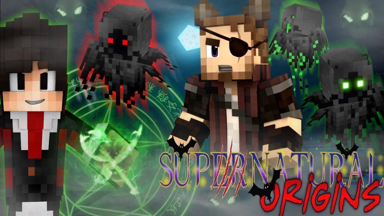 DARK DRUIDS! - Minecraft Supernatural Origins #2 (Werewolf ...