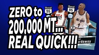 NBA 2K17 - MyTeam - Zero to 200,000 MT - The Snipe Process