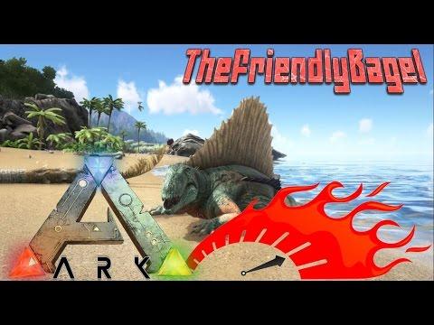 Ark Max Speed! | Level 1,000,000 Dimetrodon