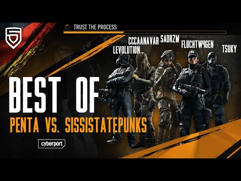 Best of GSA League 2021   PENTA vs. SissiStatePunks   Rainbow Six Siege   #ThisisPENTA