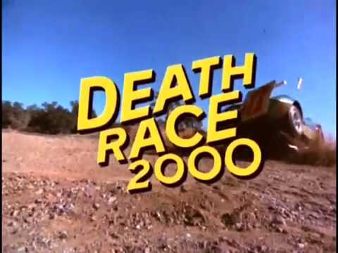 Death Race 2000 movie trailer,  David Carradine,