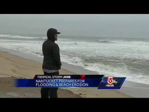Nantucket braces for flooding and beach erosion