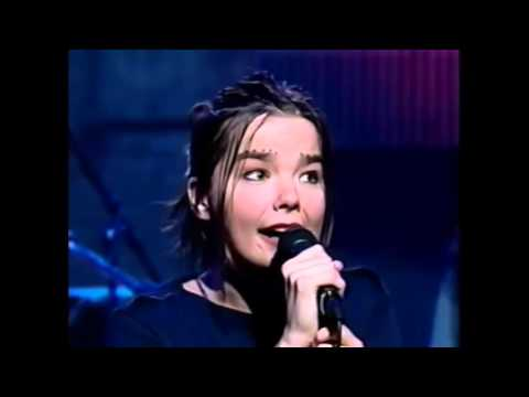 Björk  - Human Behaviour + Interview  - Late Night With Conan O'Brien  (October 1993)