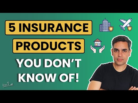 DID YOU KNOW OF THESE INSURANCE PRODUCTS? | Ankur Warikoo Hindi Video