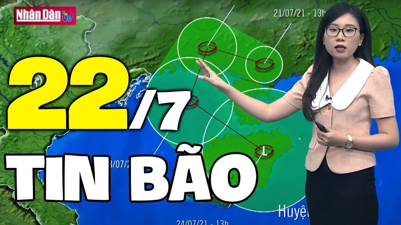 Download Dự báo thời tiết hôm nay và ngày mai 22/7 | Dự báo thời tiết đêm nay mới nhất