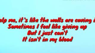 Gambar cover Shawn Mendes - In My Blood (Lyrics By LyricsTube )