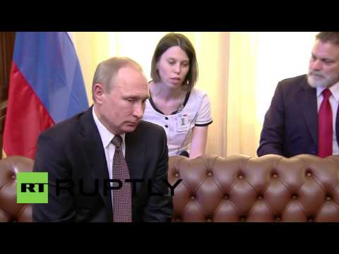Greece: Putin meets Greek counterpart Pavlopoulos in Athens