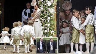 pippa middleton wedding | Duchess of Cambridge gives the bridesmaids and page boys a polite warning