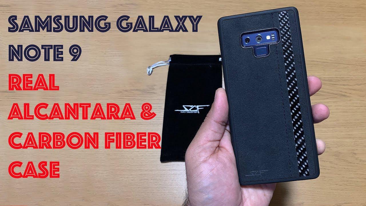 premium selection 6881b 12909 Samsung Galaxy Note 9 Alcantara & Carbon Fiber Case