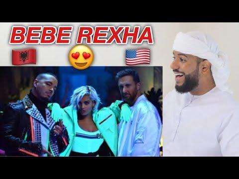 ARAB REACTION TO ALBANIAN/AMERICAN MUSIC BY David Guetta, Bebe Rexha & J Balvin - Say My Name