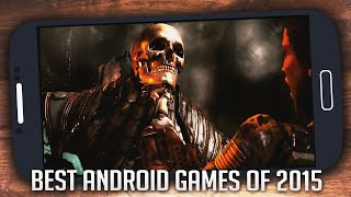 Best Android Games of 2015 with Amazing Graphics [HD]