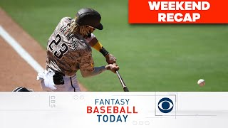 Weekend RECAP + Fernando Tatis Hype! | Fantasy Baseball Today