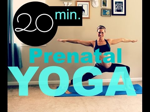 PRENATAL YOGA | Challenging Yoga to Train for Labor