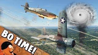 War Thunder - Flying Hurricanes Before The Hurricane