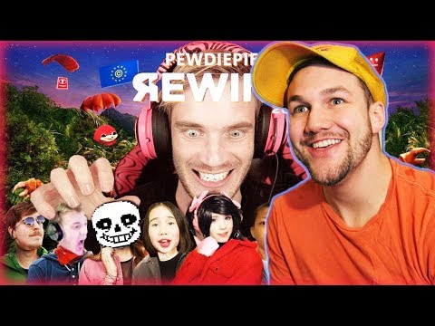 Youtube Rewind but its actually good Reaction! - Pewdiepie's Youtube Rewind