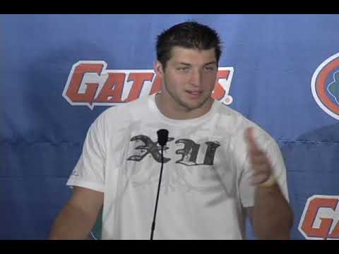Tebow talks about Brandon Spikes