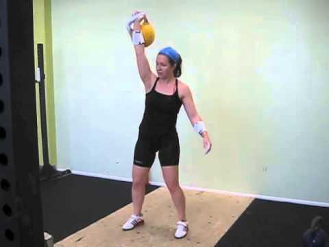 Kettlebell Sport Snatch 16 kg - Turun salikisa - 145 reps my PR