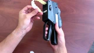 Видео-инструкция этикет - пистолет