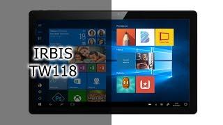Обзор планшета IRBIS TW118