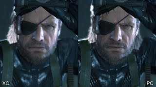 Metal Gear Solid: Ground Zeroes - Xbox One vs. PC Comparison