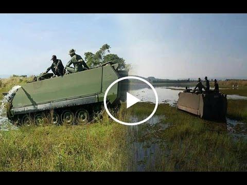 Amphibian vehicle...Ability M113