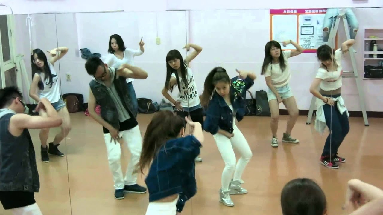 4minute Crazy MV dance - YouTube