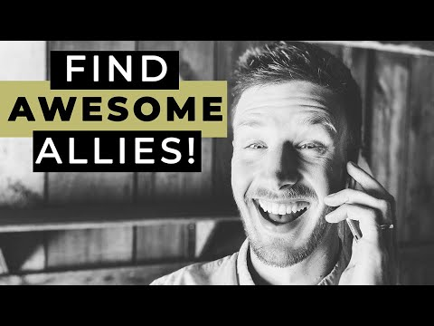 How To Find Allies (Without Being Awkward)