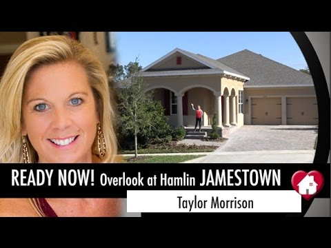 New Homes Winter Garden Florida Jamestown Inventory at Overlook by Taylor Morrison