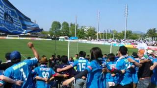 2015年5月24日J3リーグ第13節 J22戦勝利の秋田オレオレ.
