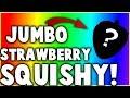 JUMBO STRAWBERRY SQUISHY UNBOXING!
