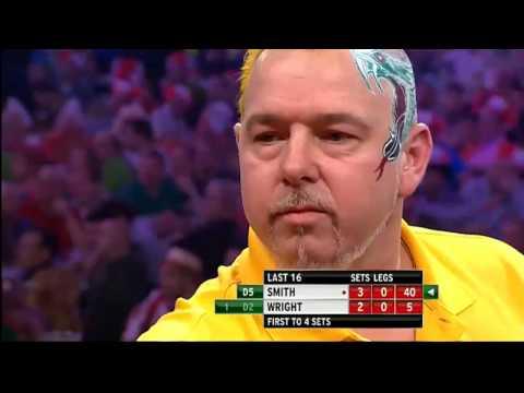 Michael Smith v Peter Wright | 4/4 | Last 16 | World Darts Championship 2014