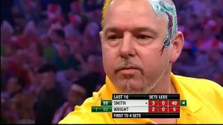 Michael Smith v Peter Wright | 4/4 | Last 16 | World Darts Championship 2014