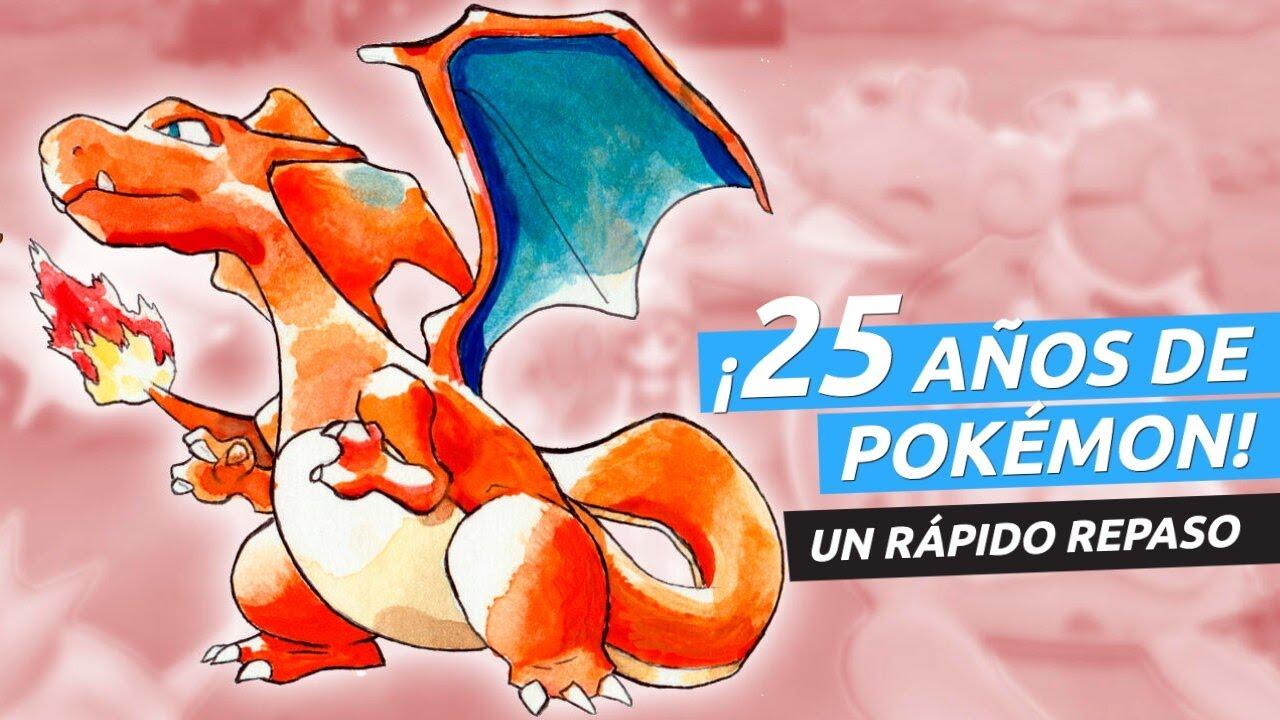 ¡Pokémon Rojo y Verde cumple 25 años! Aquí va un rápido homenaje a la franquicia