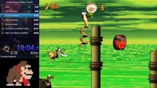 Donkey Kong Country 2 Speedrun (Any%) - 45:56