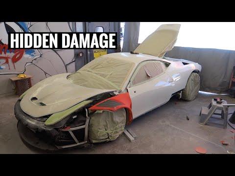 Ferrari GT3 458 Widebody Bodywork Complete!