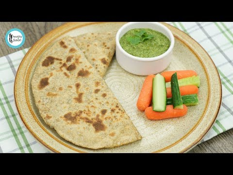 Basil roti for Weight Loss  Recipe By Healthy Food Fusion