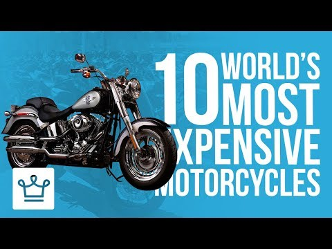 Top 10 Most Expensive Motorcycles In The World