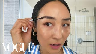 Greta Lee's Casual Glam Beauty Routine | Beauty Secrets | Vogue