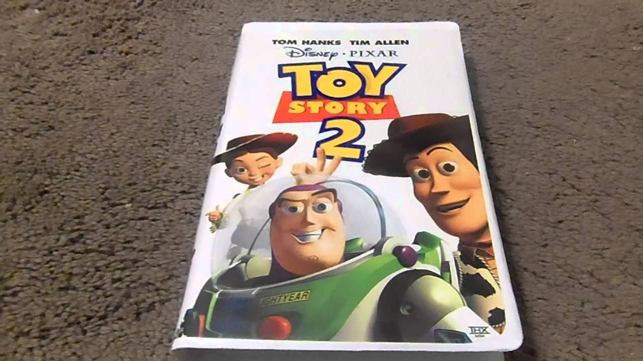 Toy Story 2 VHS Review - YouTube