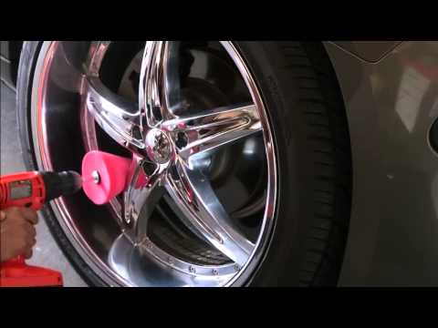 How To Clean And Polish Chrome Wheels 2014