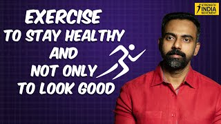Exercise to stay healthy and not only to look good | Health videos in