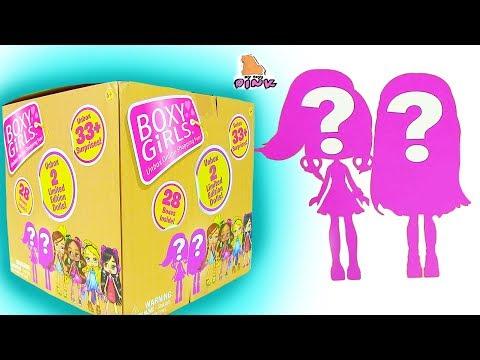 35 СЮРПРИЗОВ! Dress Up ЭКСКЛЮЗИВНЫЕ куклы БОКСИ ГЕРЛЗ BOXY GIRLS #DOLLS Одевалки Игры для Девочек